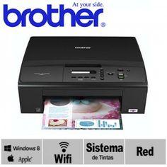 Brother DCP-J140W Con sistema de tinta - Impresora Con Sistema de tinta continua - Reparamos Compus 2.0