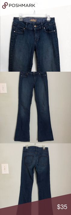 Paige Holly Petite Jeans Dark Wash Bootcut Pants Super soft designer jeans. Awesome condition. Inseam 30' NO FLAWS. Size 27 / size 4  Check out my other items, including brands such as:  J. Crew Lululemon  Vineyard Vines Lily Pulitzer Anthropologie Free People And much more! PAIGE Jeans Boot Cut