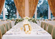 A lakeside country club in central Florida provided the perfect venue for this couple's fall celebration.