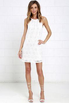 Jack by BB Dakota Browning Ivory Lace Dress at Lulus.com!