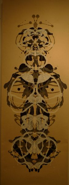 Rorschach Mask XI by Art Spellings