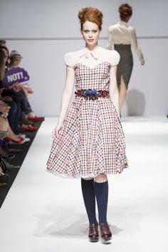 MQ Wien: MQ Vienna Fashion Week, Lena Hoschek © Juergen Hammerschmid