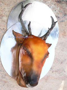 3D deer cakes
