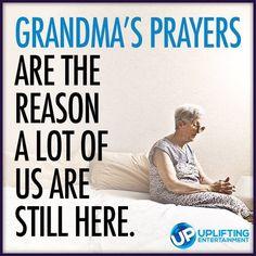 Thank God for grandmas.