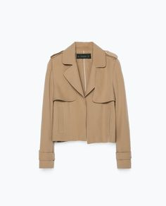 Image 8 of LOOSE CUT JACKET from Zara