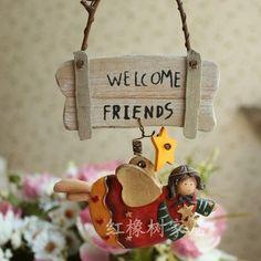 Európai stílusú bejárati ajtót, vagy fali akasztó, kézzel készített gyanta kézműves, Esküvő / Valentin / Húsvéti ajándékok, legkeresettebb 001