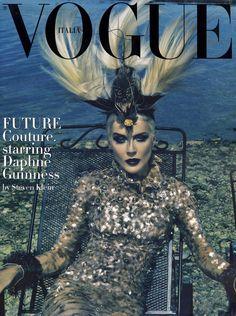 Daphne Guinness Vogue Italia