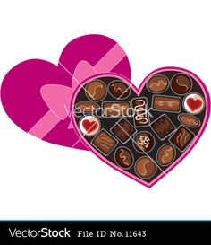 Yummy Clip Art Of A Chocolate Cake | Valentine chocolate ...