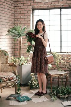 Korean Fashion – How to Dress up Korean Style – Designer Fashion Tips Modest Dresses, Modest Outfits, Modest Fashion, Cute Dresses, Dress Outfits, Casual Dresses, Fashion Dresses, Dress Up, Korean Fashion Summer