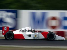 1992 German Grand Prix  McLaren MP4/7A  Gerhard Berger