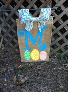 SALE Easter Outdoor Garden Flag by MooreSouthernDesigns on Etsy, $18.00