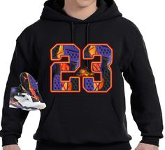 newest 05189 f1564 Details about COP EM CUSTOMS HOODIE TO MATCH THE NIKE AIR JORDAN 8 THREEPEAT  3 PEAT S