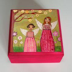 Pink Fairy Jewellery Box - Folksy