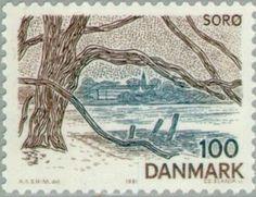 Sello: Soro (Dinamarca) (Danish Tourist Association - Zealand & Surrounding Areas) Mi:DK 733,Sn:DK 682,Yt:DK 735,Sg:DK 704,AFA:DK 730