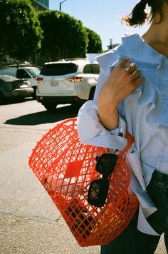 If You Buy One Basket Bag, Make It This Cute, Cheap, Retro One - Rackedclockmenumore-arrow : It's less than $25.