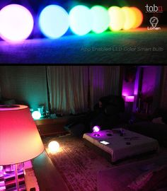 Tabu Lumen 變色LED藍牙燈泡(TL-800) | CrazyMiKE 瘋狂賣客
