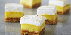 Lemon Meringue Squares - Anna Olson