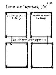 5th Grade Common Core  Reading Graphic Organizers image 4