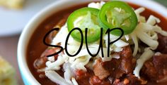 Recipe Index - Soup