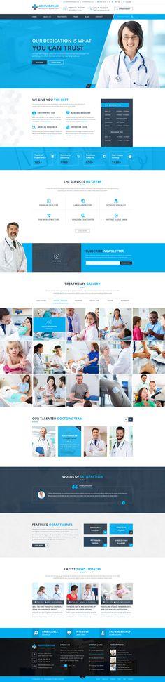 ADHIVIDAYAM - An Intuitive Health care PSD Template • Download ➝ https://themeforest.net/item/adhividayam-an-intuitive-health-care-psd-template/18206109?ref=pxcr