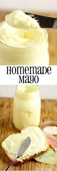 Homemade Mayo Recipe in the food processor - the perfect homemade base for sauce…
