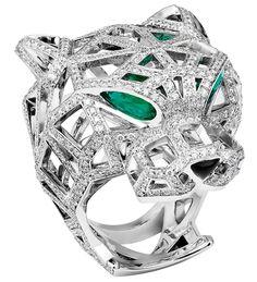 emeralds jaguar bulgattie with carats ring genuine cartier products