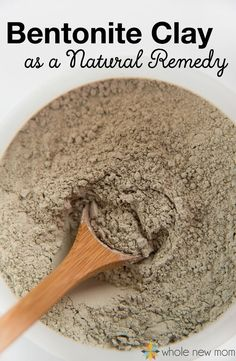 Have you heard of Bentonite Clay? You won't believe the natural health benefits, but the greatest of all of the bentonite clay benefits is removing toxins. I'm sharing a few ways you can balance gut bacteria, boost immunity, and more with bentonite clay! Natural Health Remedies, Natural Cures, Natural Healing, Herbal Remedies, Natural Oil, Natural Treatments, Natural Foods, Natural Beauty, Cold Remedies