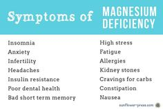 You can add fibromyalgia to the list! I have read that almost all of Americans are deficient in magnesium to some extent.