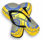 Sigma Gamma Rho sorority Super new color Flip Flops! These great rubber casuals are crafted with top quality materials