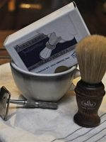 My future husband will have a classic shaving set.   He better be handsome.