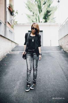 Street Fashion: Italian fashion blogger Mia Di Domenico