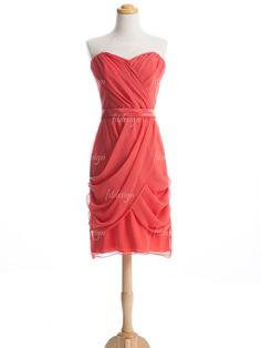 coral bridesmaid dresses short bridesmaid dresses by fitdesign