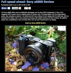 Dpreview review of Sony a6000 - Oh Dear.