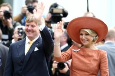 Queen Maxima - King Willem-Alexander And Queen Maxima Meet German President Joachim Gauck