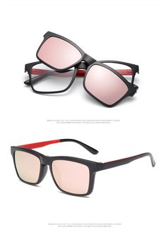 3c5e1496ac20 Clip On Magnet Eyewear Polarized Driving Lens Eyeglasses Sunglasses Women  Man