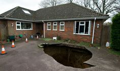 Delight in the wonder of sinkholes, the Grand Canyons of suburbia
