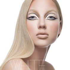minimalistic avant garde eye make up 60s Makeup, Makeup Inspo, Makeup Inspiration, Makeup Tips, Beauty Makeup, Hair Makeup, Runway Makeup, Clean Makeup, Beauty Box