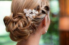 Vintage bride / Hair jewelry