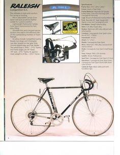 36 Best Historical Raleigh Bike Info Images In 2019 Raleigh Bikes