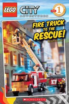 Recommended firemen reading: Lego City Adventures. Fire Truck to the Rescue by Sonia Sander. Available for check out at the Logan Library.