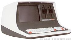 """Intertec  SUPERBRAIN      The Superbrain was an integrated system with keyboard, display and disc drives. The system used two Z80A microprocessors at 4 MHz, one for the main processing, and the other for peripheral activities.    The dual 5"""" floppy disc units could be 2x170 KB (single side), 2x340 KB (DS), and a 10 MB CompuStar hard disk could be added."""