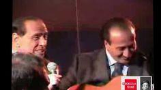 Riedicola Fiore : Berlusconi Se mi arrestate sarà rivoluzione (+playlist)