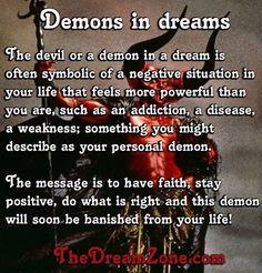 Demons in dreams