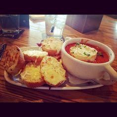 Photo by daylynator - Tomato & Bacon Soup  #ojsmenu #ojscoldlake #winterwarmup #originaljoes #restaurant #food #love #yum #instafood #foodporn #ig #igdaily #instagram
