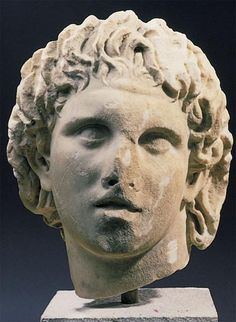 Lysippos, Alexander the Great  I have a reproduction of this bust from the Art Institute of Chicago.