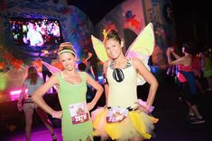 As soon as we arrived at the Tinker Bell Half Marathon Weekend,we realized that costumes and running gear were as much a part of the experience as the run itself.