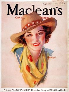 1933 magazine cover