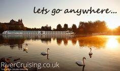 Lets go anywhere. #travel #rivercruise #travelquote #quote #cruise #holiday