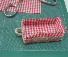how to: lined basket