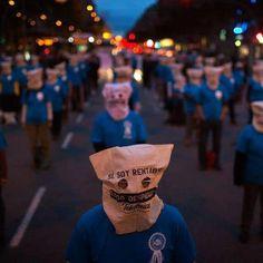 """L'esercito, questa volta dei lavoratori precari e non degli """"infettati"""", resiste oggi #14N."""